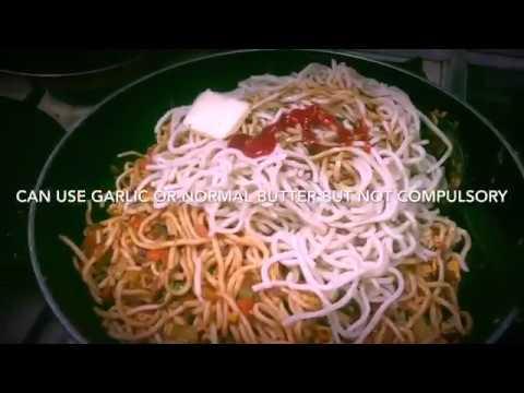 Chicken and Veg Chinese Chowmein recipe