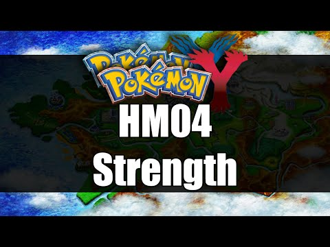 Pokemon X & Y | Where to get HM04 Strength