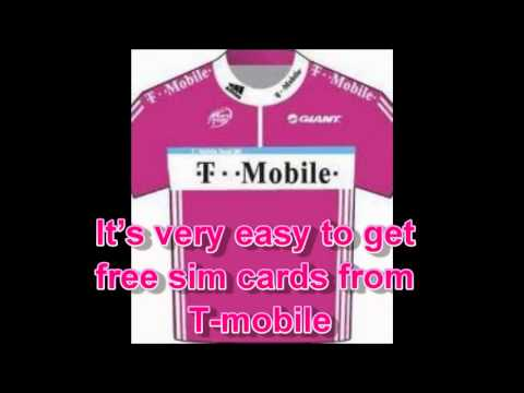 Gsm Cards_ Get 2 Free T-Mobile Sim Cards Very Easy Just Follow The Steps