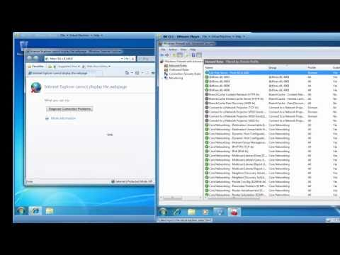 Learn how to configure your Windows 7 Firewall