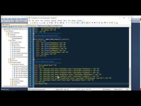 Database Project for MS SQL Server