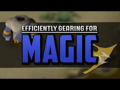 Guidelines for Efficiently Gearing for Magic - From Cheap Gear to Best in Slot (OSRS)