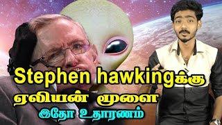 Stephen hawkingக்கு ஏலியன் மூளை இதோ உதாரணம்   Hariharan