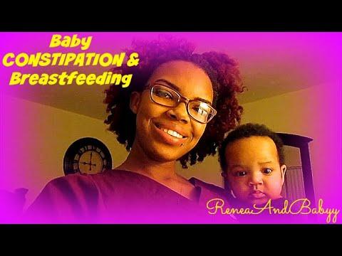 Baby Constipation & Breastfeeding! - Renea AndBaby