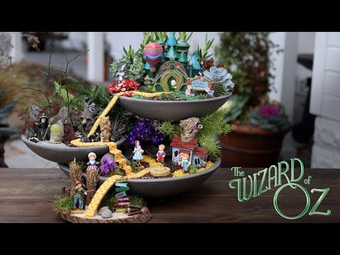 The Wizard of Oz Fairy Garden // Garden Answer