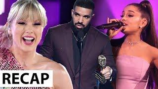 Ariana Grande & Taylor Swift Booed At Billboard Music Awards 2019