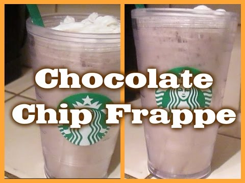 D I Y| Chocolate Chip Frappe!