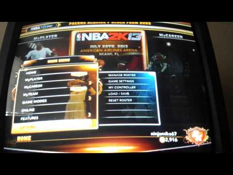 How to do the vc glitch in nba 2k13