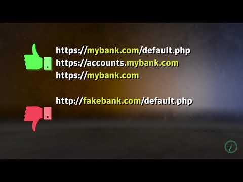 Security Awareness Quick Tip: How to spot a bogus URL!