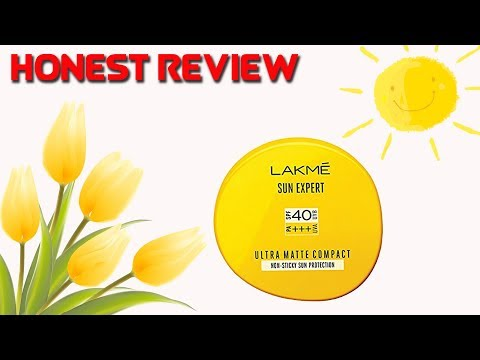 New Lakme Sun Expert Ultra Matte Compact Review | Best For Dry And Oily Skin | Indian Makeup