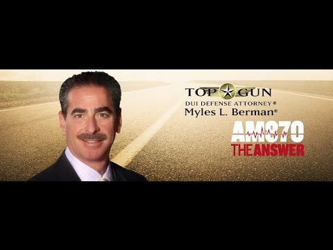 Myles L. Berman® interviewed on Friday, May 27, 2016, on KRLA 870am The Answer