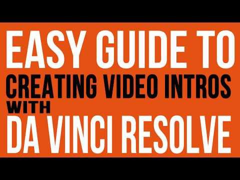 Create Video Intros, Text & Titles using Free Davinci Resolve