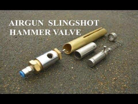 Homemade Air gun Slingshot Hammer Valve2 The Best Design