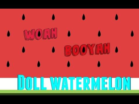 How to make Doll Watermelon l Miniature Food