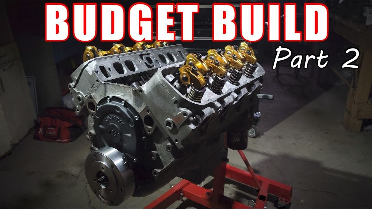 BUDGET Chevy Big Block Build! - Part 2 of 3 ( long block assembly )