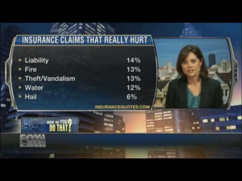 Laura Adams on FOX Business - The Willis Report - How Making a Claim Affects Home Insurance Rates