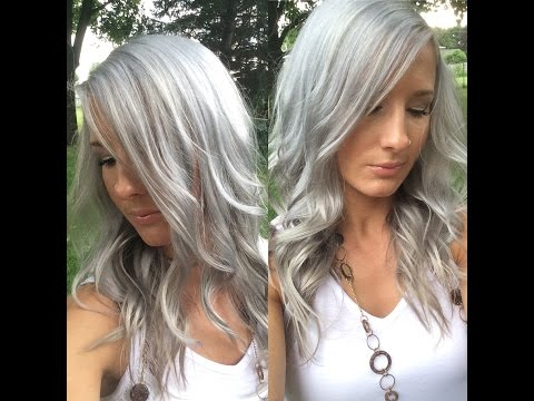How I get Silver/Grey/white Hair