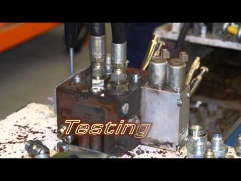Hydraulic Pumps valves and motors