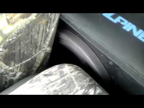 12 inch sub in a regular cab Ford F150