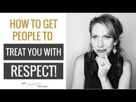 How To Get People To Treat You With Respect: 3 Simple Steps