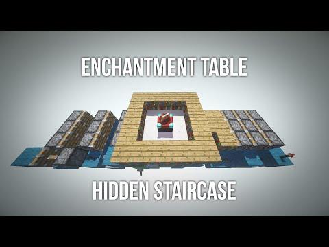 Hidden Enchantment Table Staircase!
