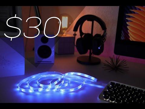 YEELIGHT LED Light Strip Works w Amazon Alexa