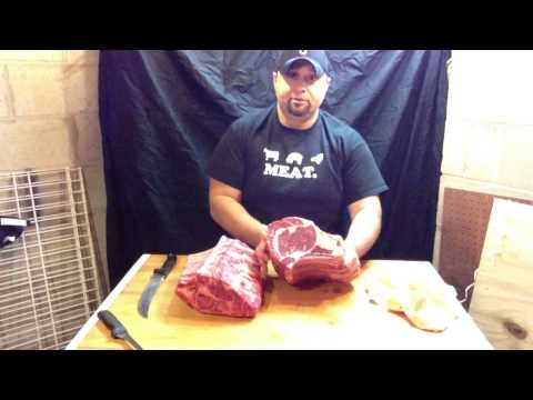 Ted the Butcher: Beef - Bone-In Prime Rib Roast