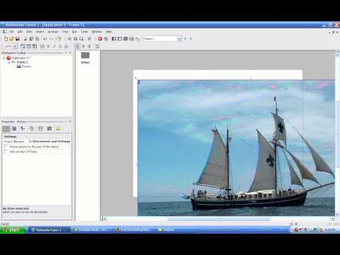 MMF2 Video Tutorial 03 - Picture Object