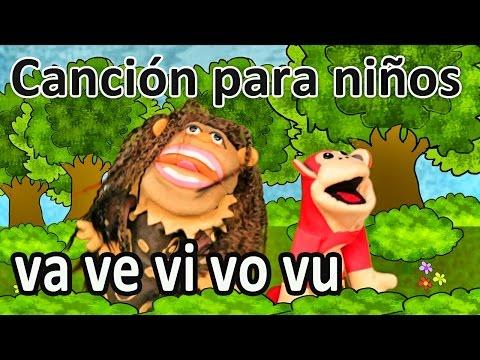 Xxx Mp4 Canción Va Ve Vi Vo Vu El Mono Sílabo Videos Infantiles Educación Para Niños 3gp Sex