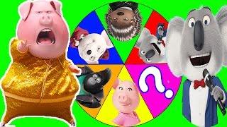 Sing Movie Game with PJ Masks Romeo Cheating, Trolls Movie Poppy, Paw Patrol Toys