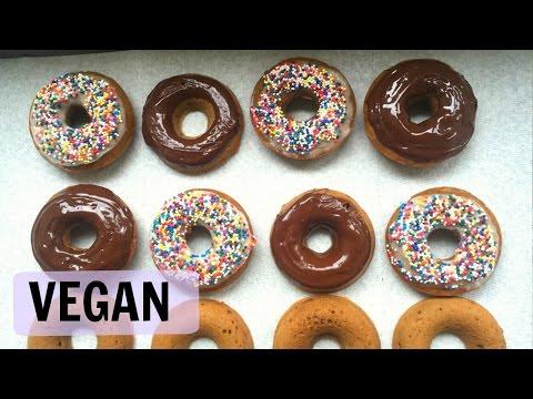 VEGAN Donut Recipe! Easy Recipe from PETA