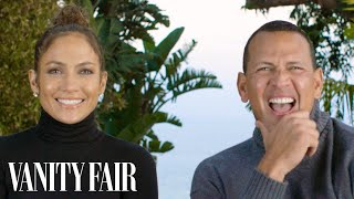 Jennifer Lopez and Alex Rodriguez Answer 17 Questions in 128 Seconds   Vanity Fair