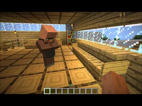 Minecraft Villager Concentration Camp