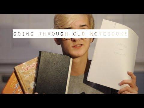 Going Through Old Journals