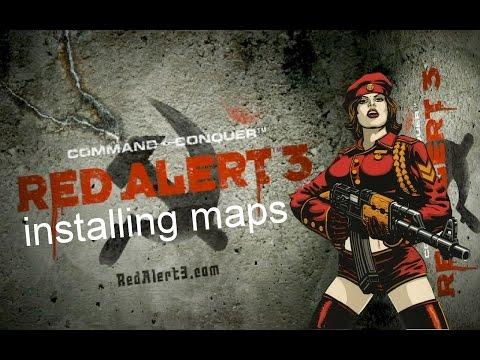 Red Alert 3 Installing Maps