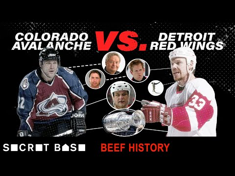 How one violent hit snowballed into years of championship-grade hockey beef   Red Wings vs Avalanche