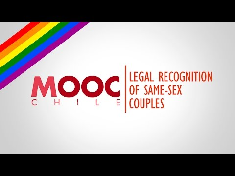 Gender Equality & Sexual Diversity | Lesson 18: Legal Recognition of Same Sex Couples