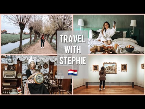 Work Outfits of the Week + Traveling Alone Abroad + Exploring Utrecht 🇳🇱   TRAVEL VLOG