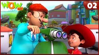 New Cartoon Show | Chacha Bhatija | Wow Kidz | Hindi Cartoons For Kids | Chacha Ki Scooter