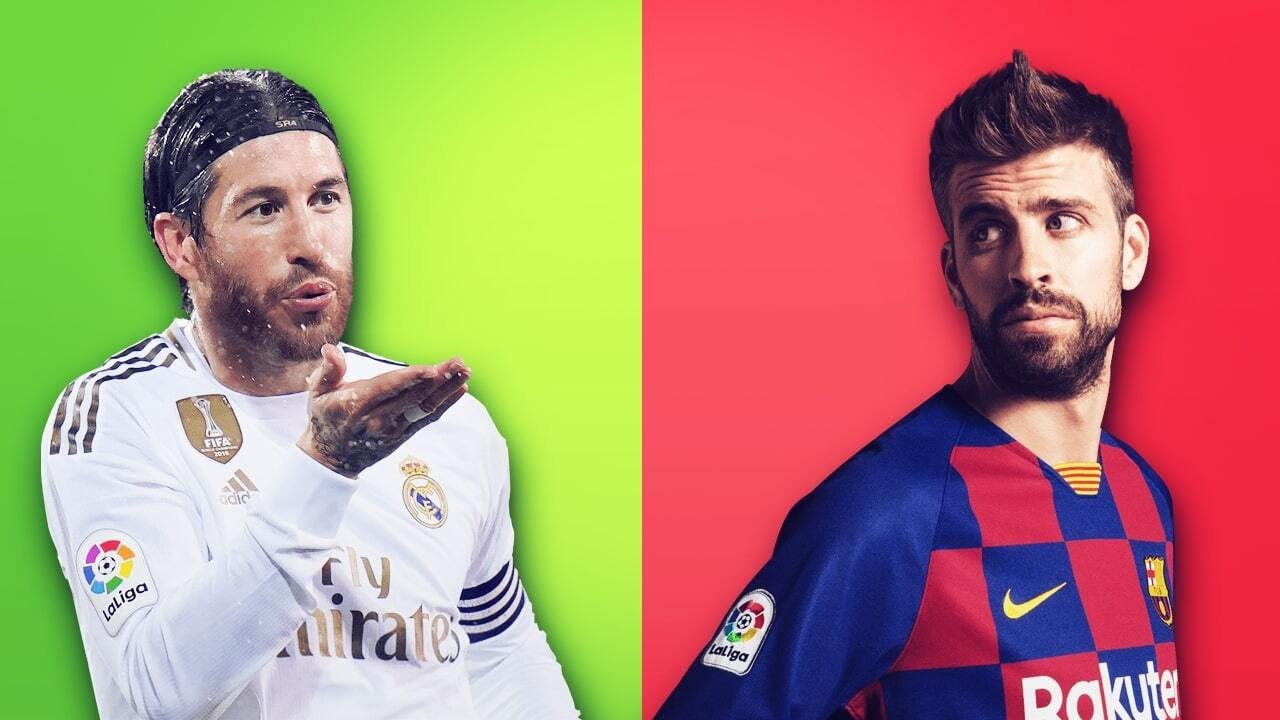 Why do Sergio Ramos and Gerard Piqué hate each other? | Oh My Goal