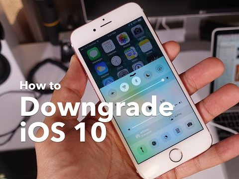 How-To: Downgrade iOS 10 beta to iOS 9 and keep most data