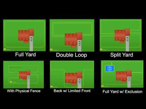 Electric Dog Fence Layouts