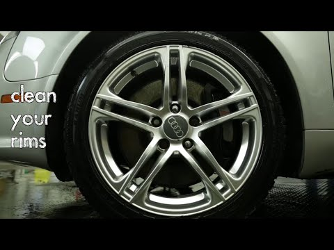 How To Clean Your Rims - Homemade DIY Cleaning Kit