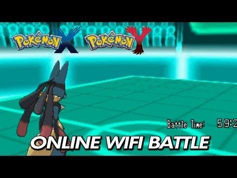 Pokemon X & Y - Online Wifi Battle - 1 Vs. 6 (Mega Lucario)