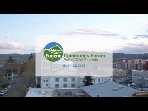 Community Forum: Police Chief Finalists