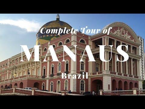 Complete Tour of Manaus, Brazil (Legendas em português).