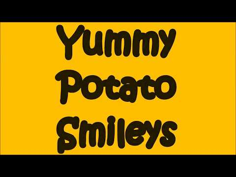 Yummy Potato smileys (KIDS RECIPE)