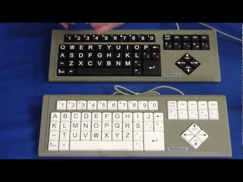 HOW TO: Change From QWERTY to ABC Layout On Your BigKeys Keyboard