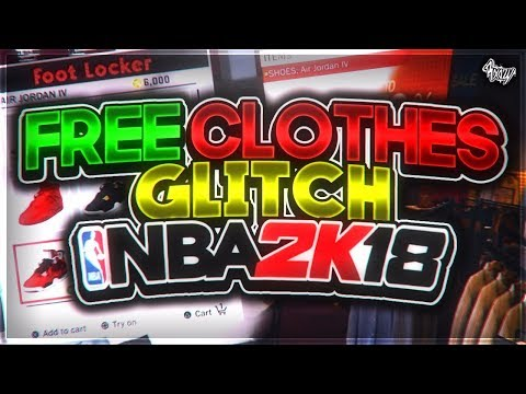 NBA 2K18 • HOW TO GET FREE CLOTHES GLITCH !!!😱🔥🔥 (PATCHED😔)