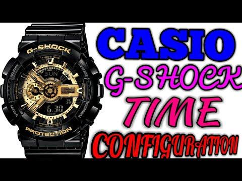 CASIO G SHOCK DIGITAL ANALOG TIME SETTING GA-110GB G339/G340 ILLUMINATOR WRIST WATCH | full package